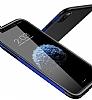 Baseus Bumper iPhone X Kırmızı Kenarlı Silikon Kılıf - Resim 1