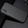 Baseus Bumper iPhone X Siyah Kenarlı Silikon Kılıf - Resim 9