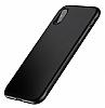 Baseus Bumper iPhone X Siyah Kenarlı Silikon Kılıf - Resim 10