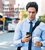 Baseus Card Pocket iPhone X Silikon Kenarlı Siyah Rubber Kılıf - Resim 6