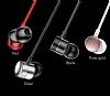 Baseus Encok H04 Mikrofonlu Kulakiçi Rose Gold Kulaklık - Resim 11