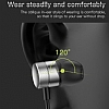 Baseus Encok H04 Mikrofonlu Kulakiçi Kırmızı Kulaklık - Resim 6