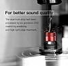 Baseus Encok H04 Mikrofonlu Kulakiçi Kırmızı Kulaklık - Resim 3