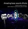 Baseus Encok H04 Mikrofonlu Kulakiçi Kırmızı Kulaklık - Resim 2