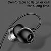 Baseus Encok H04 Mikrofonlu Kulakiçi Kırmızı Kulaklık - Resim 5