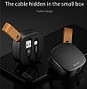 Baseus Flexible Lightning ve Micro USB Data Kablosu 74cm - Resim 1
