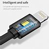 Baseus Flexible Lightning ve Micro USB Data Kablosu 74cm - Resim 3