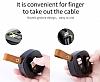 Baseus Flexible Lightning ve Micro USB Data Kablosu 74cm - Resim 7