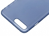 Baseus Frosting iPhone 7 Plus Ultra İnce Dark Blue Rubber Kılıf - Resim: 1