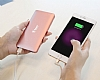 Baseus Galaxy Series 10000 mAh Powerbank Rose Gold Yedek Batarya - Resim: 3