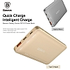 Baseus Galaxy Series Q3.0 10000 mAh Powerbank Gold Yedek Batarya - Resim 1