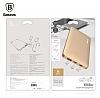 Baseus Galaxy Series Q3.0 10000 mAh Powerbank Gold Yedek Batarya - Resim 3