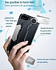Baseus Gamepad iPhone 7 Plus / 8 Plus Standlı Siyah Oyun Kılıfı - Resim 5