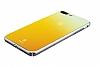Baseus Glass iPhone 7 Plus / 8 Plus Sarı Rubber Kılıf - Resim 3