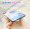 Baseus Glass iPhone 7 Plus / 8 Plus Sarı Rubber Kılıf - Resim 1