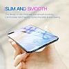 Baseus Glass iPhone 7 / 8 Mavi Rubber Kılıf - Resim 1