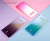 Baseus Glaze Samsung Galaxy Note 8 Pembe Rubber Kılıf - Resim 9