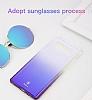 Baseus Glaze Samsung Galaxy Note 8 Pembe Rubber Kılıf - Resim 3