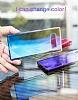 Baseus Glaze Samsung Galaxy Note 8 Pembe Rubber Kılıf - Resim 4