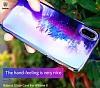 Baseus Glaze iPhone X Mor Rubber Kılıf - Resim 2