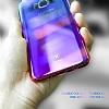 Baseus Glaze Samsung Galaxy S8 Plus Mavi Rubber Kılıf - Resim 5