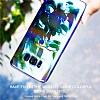 Baseus Glaze Samsung Galaxy S8 Plus Mavi Rubber Kılıf - Resim 1
