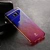 Baseus Glaze Samsung Galaxy S8 Plus Mavi Rubber Kılıf - Resim 2