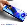 Baseus Glaze Samsung Galaxy S8 Plus Mavi Rubber Kılıf - Resim 4