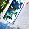 Baseus Glaze Samsung Galaxy S8 Mavi Rubber Kılıf - Resim 1