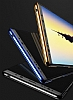 Baseus Glitter Samsung Galaxy Note 8 Tam Kenar Koruma Siyah Rubber Kılıf - Resim 4