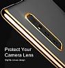 Baseus Glitter Samsung Galaxy Note 8 Tam Kenar Koruma Siyah Rubber Kılıf - Resim 7
