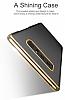 Baseus Glitter Samsung Galaxy Note 8 Tam Kenar Koruma Siyah Rubber Kılıf - Resim 5
