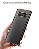 Baseus Glitter Samsung Galaxy Note 8 Tam Kenar Koruma Siyah Rubber Kılıf - Resim 10