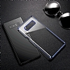 Baseus Glitter Samsung Galaxy Note 8 Tam Kenar Koruma Lacivert Rubber Kılıf - Resim 7