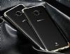 Baseus Glitter Samsung Galaxy S8 Plus Tam Kenar Koruma Gold Rubber Kılıf - Resim 1