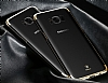 Baseus Glitter Samsung Galaxy S8 Tam Kenar Koruma Gold Rubber Kılıf - Resim 2