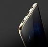 Baseus Glitter Samsung Galaxy S8 Tam Kenar Koruma Gold Rubber Kılıf - Resim 8