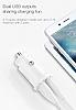 Baseus Grain Çift USB Girişli Beyaz Araç Şarj Aleti - Resim 2