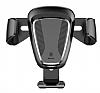 Baseus Gravity Universal Araç Siyah Havalandırma Tutucu - Resim 1