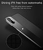 Baseus Half to Half iPhone X Gold Silikon Kılıf - Resim 3