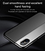 Baseus Half to Half iPhone X Siyah Silikon Kılıf - Resim 4