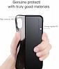 Baseus Half to Half iPhone X Siyah Silikon Kılıf - Resim 5