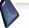 Baseus Hidden Bracket Samsung Galaxy Note FE Siyah Standlı Rubber Kılıf - Resim 5