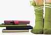 Baseus HTC One Faith Kapaklı Pembe Deri Kılıf - Resim 3