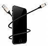 Baseus New Insnap USB Type-C Siyah Manyetik Data Kablosu 1m - Resim 8