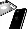 Baseus iPhone 6 Plus / 6S Plus Jet Black Rubber Kılıf - Resim: 2