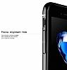 Baseus iPhone 6 Plus / 6S Plus Jet Black Rubber Kılıf - Resim 3