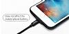 Baseus iPhone 7 Plus / 8 Plus Siyah Bataryalı Kılıf - Resim 3