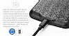 Baseus iPhone 7 Plus / 8 Plus Siyah Bataryalı Kılıf - Resim 2