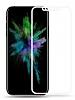 Baseus iPhone X Beyaz Cam Ekran Koruyucu - Resim 5